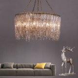 Entwurfs-Luxuxflur-Projekt-Kristallleuchter-Lampe mildern