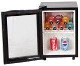 Mini Koelkast met de Deur van het Glas voor Drank en Drank (jga-SC21BY)