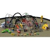 Kaiqi子供の遊園地(KQ60132A)のための上昇シリーズ屋外の運動場
