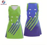 Рубашки полиэфира Spandex нового продукта изготовленный на заказ Cheerleading формы сексуальные для Netball команды женщин