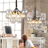 명확한 유리제 거품 장식적인 공 창조적인 펀던트 가벼운 Haning 램프