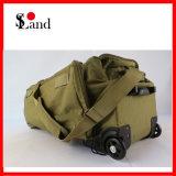 Tactique militaire 24pouces Rolling sac chariot à roulettes avec bandoulière