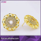 China Manfacurter Fábrica de Zirconia Stud Earrings para mujeres