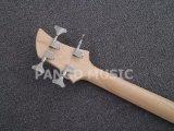 Pango акриловое, прозрачное тело, гитара 4 шнуров басовая (PBL-001)