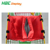 Supermarché Polyester recyclé sac chariot pliable