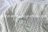 Anti-Scherflein gestrickter Bambusfaser-wasserdichter Matratze-Schoner, natürlicher Bambusschoner