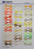 Spannlack gefärbtes Polyester-GarnFDY 50d/24f Multifilament-Garn