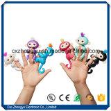 2017 el juguete interactivo del mono de los pececillos del juguete más nuevo