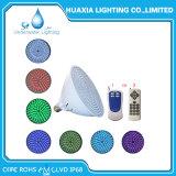 colore di 24W 12V 120V 220V che cambia l'indicatore luminoso della piscina della lampadina LED del raggruppamento di PAR56 E27 per Hayward Pentair