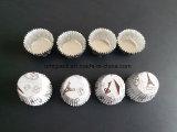Envase redondo del papel de aluminio para el molde del chocolate