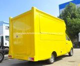 Vrachtwagen van het Voedsel van de Hotdog van het Ontwerp van het beeldverhaal de Mobiele 2 Ton van het Karretje van de Verkoop