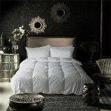 호텔 가정 침대 깃털 이불 침대 덮개 특대 95% 백색 거위는 아래로 누비질한다