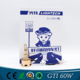 LED車のヘッドライトのための高性能の高い発電60W H1 H4 H11
