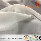 100%RPET reciclado/vestido de gasa Chiffon tela con ecológica