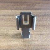 Metallo su ordinazione dell'OEM che timbra il terminale della piegatura del doppio dell'acciaio inossidabile