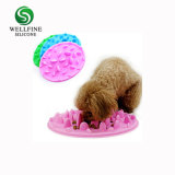 No Spill Foldable Silicone Slow fox trot Feed Dog Bowl