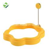 Outil d'oeufs de forme de fleur personnalisés en silicone moule du bac d'oeufs
