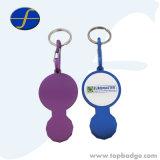 고품질 다른 디자인 주문 알루미늄 Keychain 트롤리 동전 (FTTR2324)
