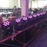 LED 이동하는 맨 위 광속 빛 급상승 세척 7X10W (LY-307M)