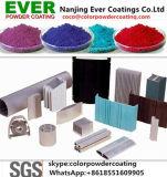 Rivestimento puro caldo della polvere del poliestere per i profili di alluminio