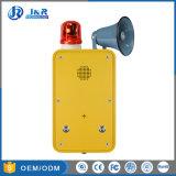 Im Freien wetterfeste 3G industrielle Handfree Doppeltasten-Notruftelefon