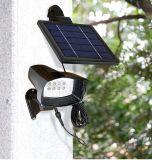 Солнечного сада настенный светильник с помощью светодиодного освещения