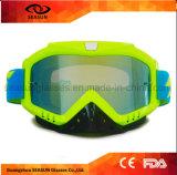 Schmutz-Fahrrad Eyewear Motorrad-Reitriß Offs Schutzbrillen der kundenspezifische Marken-Antikratzer-UV400