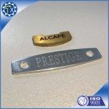 Le métal fait sur commande d'usine anodisent estamper la plaque signalétique gravée par laser de pièces