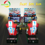 Parque de Atracciones interior coche de carreras arcade simulador de máquina de juego