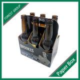 Caixa do portador de papel da cerveja da corona de 6 blocos