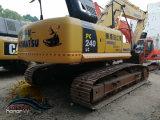 Excavatrice initiale utilisée de l'excavatrice 24ton de chenille de KOMATSU PC240LC-8
