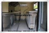 Vrachtwagen van het Voedsel van de Kar van de Kiosk van de Verkoop van de Aanhangwagen van Australië de Gehele die in China van Qingdao wordt gemaakt