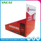 Exposición de piso de plegado de papel para rack de soporte de pantalla para tiendas especializadas