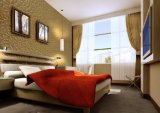 ホーム家具の装飾的な寝室の装飾的で物質的な木の功妙なパネル