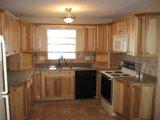 Kundenspezifischen Qualitäts-modernen Küche-Schrank mit Bescheinigung E1 freigeben