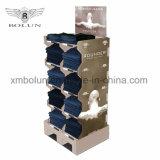 Crochet de carton Pop Chaussettes de peuplements d'affichage pour les expositions