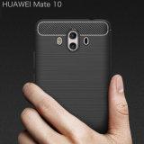 Huaweiの仲間10カバーのためのカーボンファイバーの携帯電話の箱