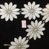 9cm 12 pedales Guarnecido de flor grande Puntilla Puntilla simple cinta de opciones para la decoración Hme869