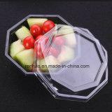 Nuevo rectángulo plástico negro modificado para requisitos particulares para el empaquetado de la ampolla del alimento