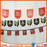 熱い販売法の休日の装飾的な印刷のフラグ