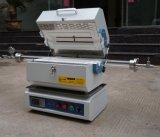 Horno de tubo partido de la resistencia del vacío de la atmósfera eléctrica para el tratamiento térmico de acero del metal