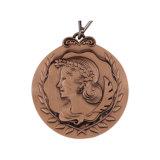 L'alta qualità di prezzi ragionevoli in lega di zinco le medaglie del trofeo di sport della pressofusione
