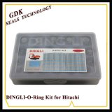 70-90 Shore PCS 626NBR Dingli caixa do Kit de Anel O para a Hitachi