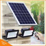 Lámpara de inundación solar principal recargable de Dula LED para la iluminación Emergency al aire libre de la cartelera