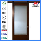 La grange de douche clôture la porte en verre intérieure de salle de bains (Jhk-G01)