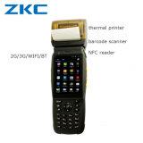 Scanner di codice Android di Qr del calcolatore tenuto in mano dell'unità Zkc3502
