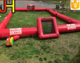 Aufblasbarer Fußball-Abgleichung-aufblasbarer Seifen-Fußballplatz für Sport-Spiele