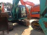 사용한 건축 기계 유압 장비는 13 톤 굴착기 Kobelco Sk135sr 크롤러 갱부를 추적했다