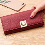 wallets Fashion Wallet Design 신식 우아한 여자 지갑 숙녀 핸드백 광저우 공장 Al329에서 하는 실제적인 가죽 지갑 숙녀 지갑