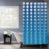 Tenda di acquazzone moderna dell'hotel di pendenza blu con la cosa repellente di acqua